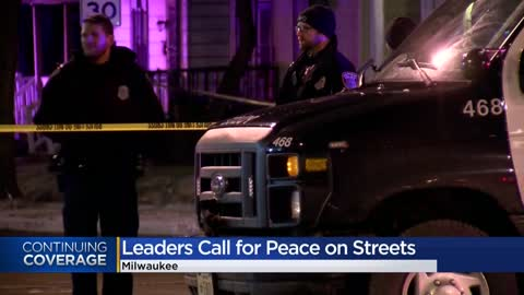 Milwaukee city leaders call for peace during 4th of July weekend